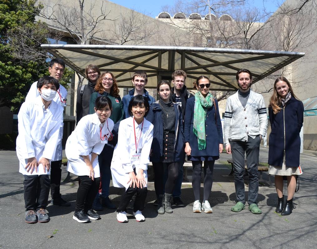 Наши коллеги посетили Токио в рамках программы обмена студентами
