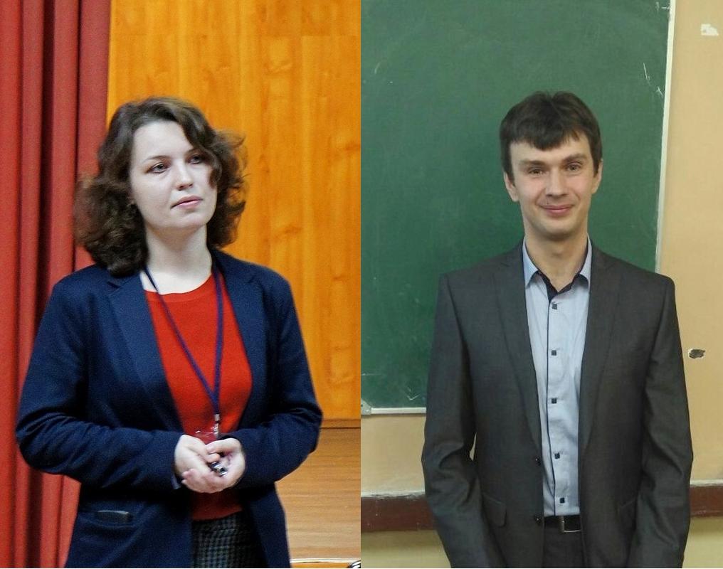 Поздравляем Глазкову Яну и Гопина Александра с защитой кандидатских диссертаций!