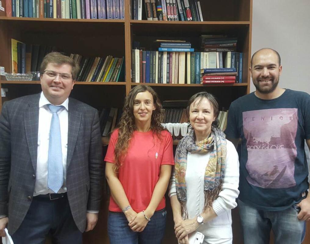 Коллеги из Аргентины прошли стажировку на нашей кафедре