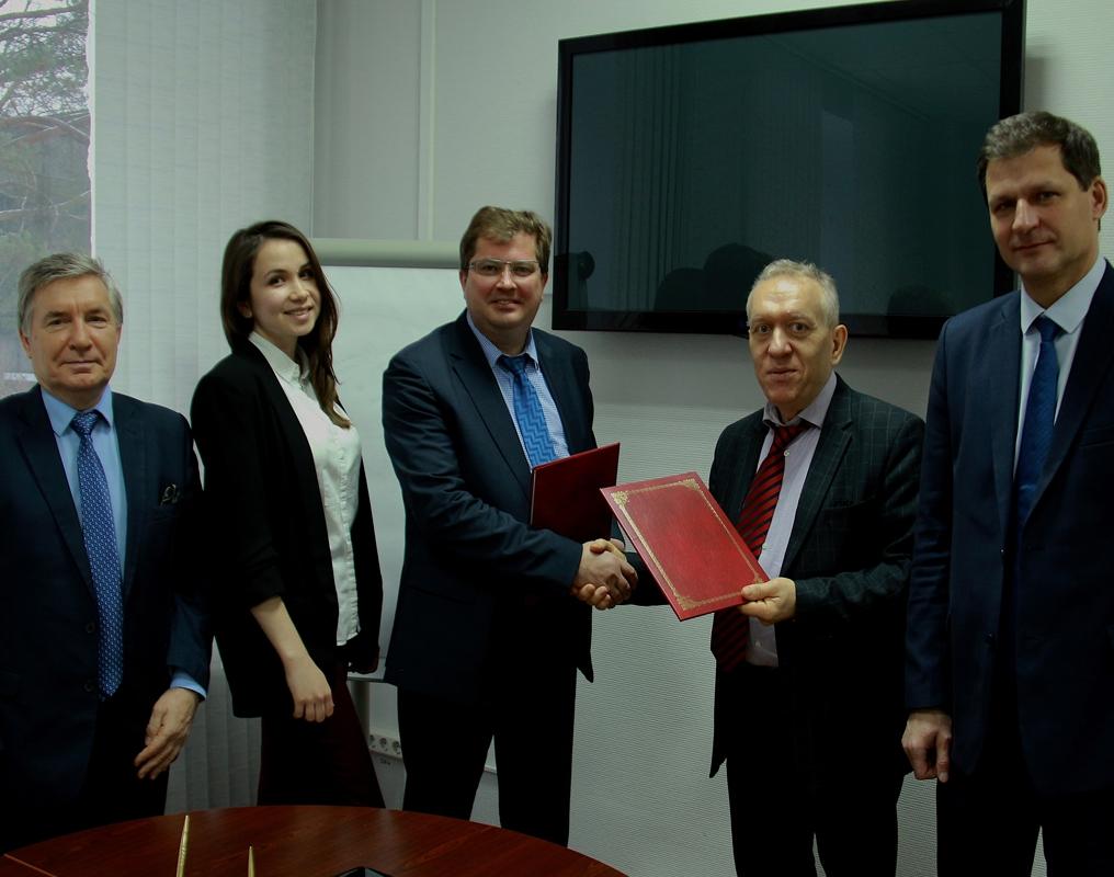 Подписан договор о сотрудничестве между Технической академией Росатома и Химическим факультетом МГУ